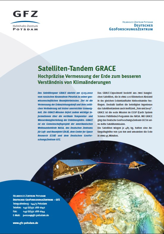 thumbnail Satelliten-Tandem GRACE