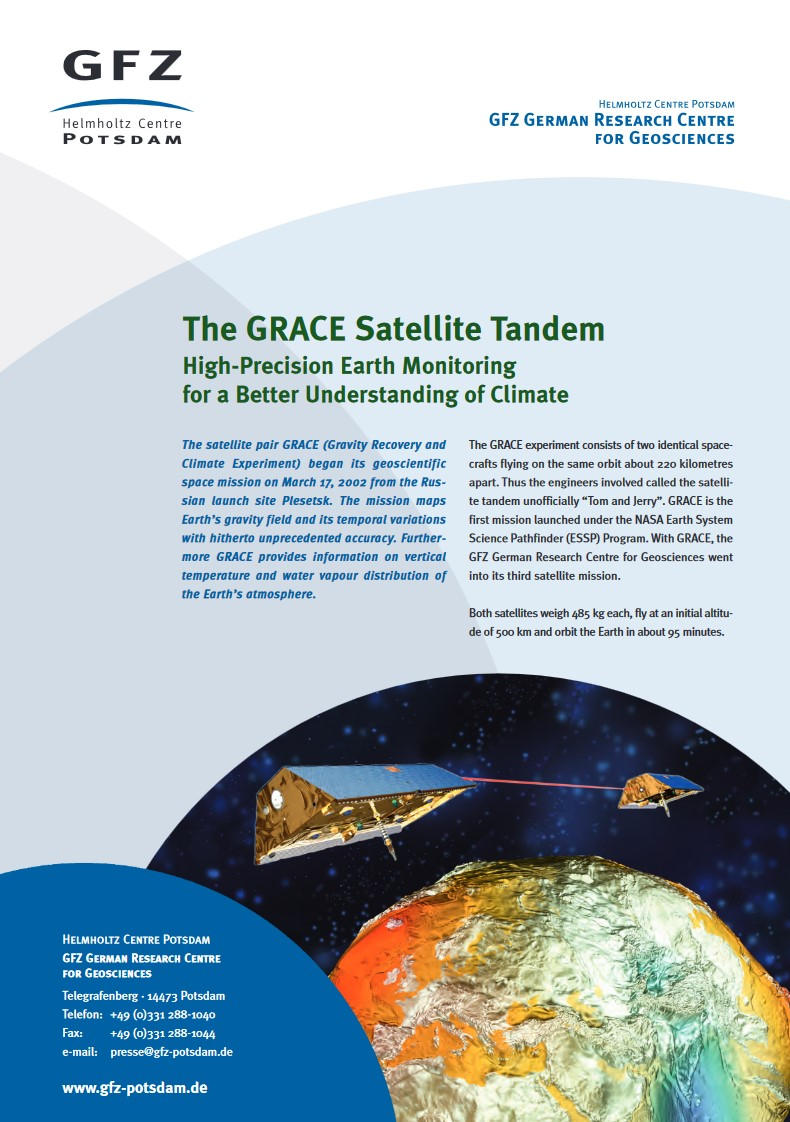 thumbnail The GRACE Satellite Tandem