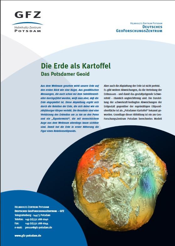 thumbnail Die Erde als Kartoffel - Das Potsdamer Geoid