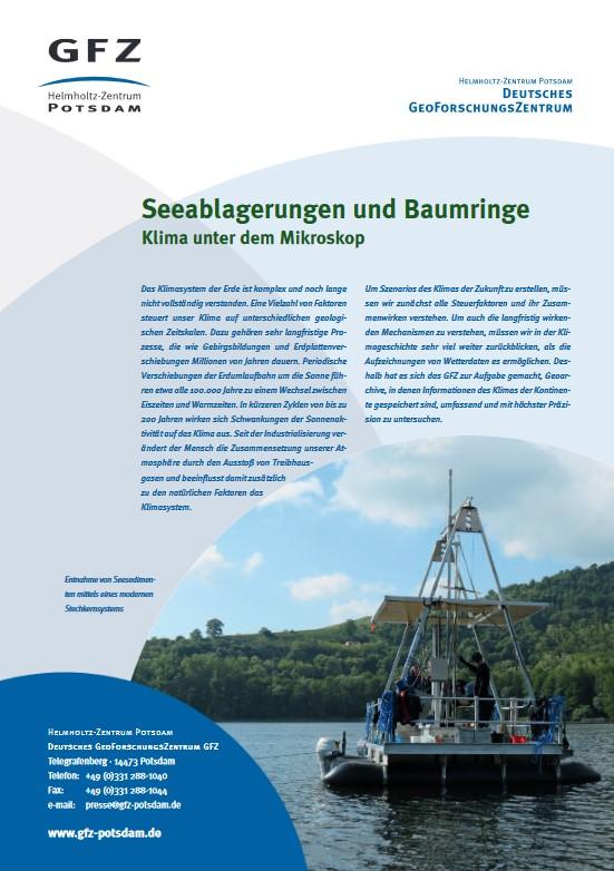 thumbnail Seeablagerungen und Baumringe
