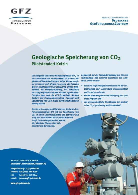 thumbnail Geologische Speicherung von CO2